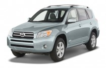 2007 Toyota RAV4 2WD 4-door 4-cyl Limited (Natl) Angular Front Exterior View