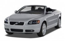 2007 Volvo C70 2-door Convertible AT Angular Front Exterior View