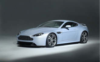 Aston Stuffs V-12 Into Vantage Concept