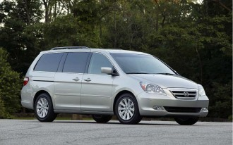 Honda Recalling 344,187 Odyssey Minivans For Unexpected Braking
