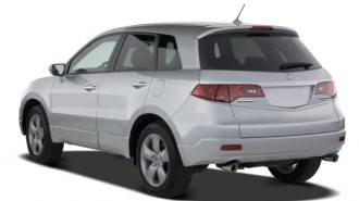 2008 Acura RDX 4WD 4-door Angular Rear Exterior View