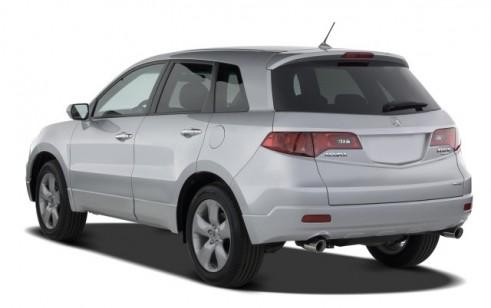 2008 Acura RDX 4WD 4-door Angular Rear Exterior View