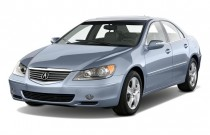2008 Acura RL 4-door Sedan (Natl) Angular Front Exterior View