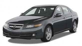 2008 Acura TL 4-door Sedan Auto Angular Front Exterior View