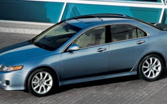 Acura TSX Recalled For Potential Engine Stall Problem