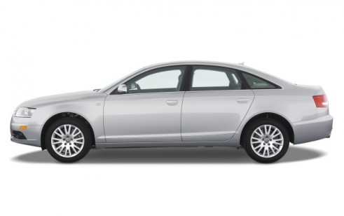 2008 Audi A6 4-door Sedan 4.2L quattro *Ltd Avail* Side Exterior View