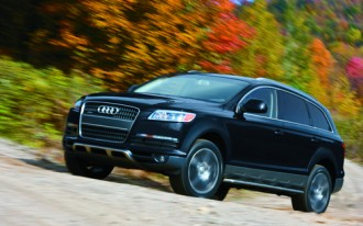 Audi Q7 Is Top Safety Pick