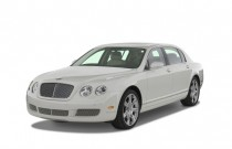 2008 Bentley Continental Flying Spur 4-door Sedan Angular Front Exterior View