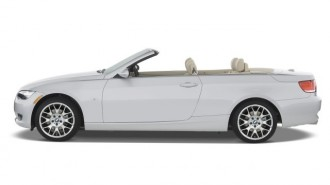 2008 BMW 3-Series 2-door Convertible 328i Side Exterior View