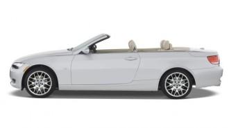 2008 BMW 3-Series 2-door Convertible 328i Side Exterior View