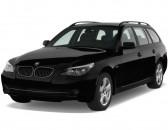 2008 BMW 5-Series 4-door Sports Wagon 535xiT AWD Angular Front Exterior View