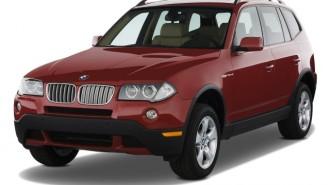 2008 BMW X3-Series AWD 4-door 3.0si Angular Front Exterior View
