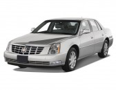 2008 Cadillac DTS 4-door Sedan w/1SA Angular Front Exterior View