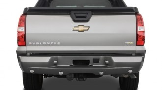 "2008 Chevrolet Avalanche 2WD Crew Cab 130"" LTZ Rear Exterior View"