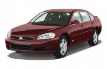 2008 Chevrolet Impala 4-door Sedan SS Angular Front Exterior View