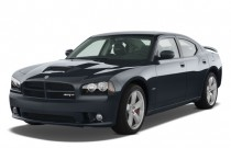 2008 Dodge Charger 4-door Sedan SRT8 RWD Angular Front Exterior View