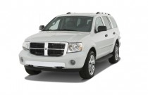 2008 Dodge Durango 4WD 4-door Limited Angular Front Exterior View