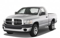 "2008 Dodge Ram 1500 2WD Reg Cab 120.5"" SLT Angular Front Exterior View"