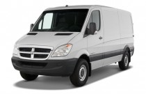 "2008 Dodge Sprinter 2500 144"" Angular Front Exterior View"