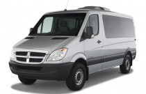 "2008 Dodge Sprinter Wagon 2500 144"" Angular Front Exterior View"