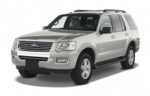 2008 Ford Explorer RWD 4-door V6 XLT Angular Front Exterior View