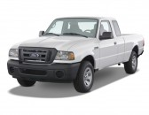 "2008 Ford Ranger 2WD 2-door SuperCab 126"" Sport Angular Front Exterior View"