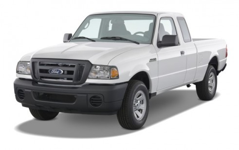 """2008 Ford Ranger 2WD 2-door SuperCab 126"""" Sport Angular Front Exterior View"""