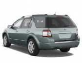 2008 Ford Taurus X 4-door Wagon Limited AWD Angular Rear Exterior View