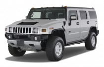 2008 HUMMER H2 4WD 4-door SUV Angular Front Exterior View