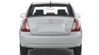 2008 Hyundai Accent 4-door Sedan Auto GLS Rear Exterior View