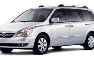 2007-2008 Hyundai Entourage recalled to fix hood latch glitch