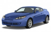 2008 Hyundai Tiburon 2-door Coupe Auto GT Limited Angular Front Exterior View