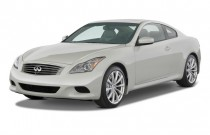 2008 Infiniti G37 Coupe 2-door Sport Angular Front Exterior View