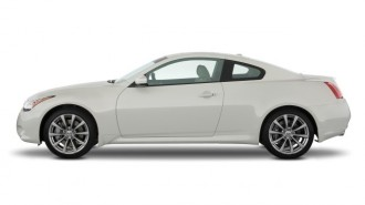 2008 Infiniti G37 Coupe 2-door Sport Side Exterior View