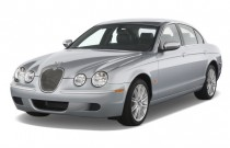 2008 Jaguar S-TYPE 4-door Sedan 3.0 Angular Front Exterior View