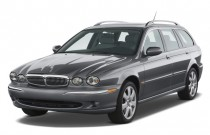 2008 Jaguar X-TYPE 4-door Wagon Angular Front Exterior View