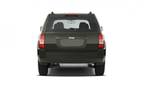 2008 Jeep Patriot FWD 4-door Sport Rear Exterior View