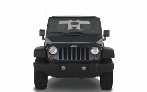 2008 Jeep Wrangler 4WD 2-door Rubicon Front Exterior View