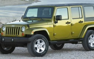Jeep Wrangler In NHTSA Airbag Probe