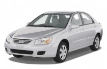 2008 Kia Spectra 4-door Sedan Auto EX Angular Front Exterior View