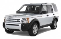2008 Land Rover LR3 4WD 4-door HSE Angular Front Exterior View