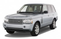 2008 Land Rover Range Rover 4WD 4-door HSE Angular Front Exterior View