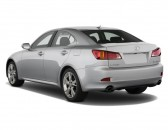 2008 Lexus IS 250 4-door Sport Sedan Man RWD Angular Rear Exterior View