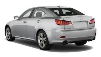 2008 Lexus IS 250 4-door Sport Sedan Man RWD Angular Rear Exterior View