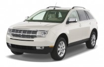 2008 Lincoln MKX AWD 4-door Angular Front Exterior View