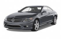 2008 Mercedes-Benz CL Class 2-door Coupe 6.3L V8 AMG Angular Front Exterior View