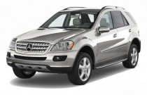 2008 Mercedes-Benz M Class 4WD 4-door 3.5L Angular Front Exterior View