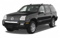 2008 Mercury Mountaineer RWD 4-door V8 Premier Angular Front Exterior View