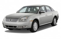 2008 Mercury Sable 4-door Sedan FWD Angular Front Exterior View