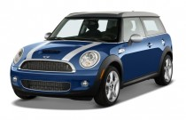 2008 MINI Cooper Clubman 2-door Coupe S Angular Front Exterior View
